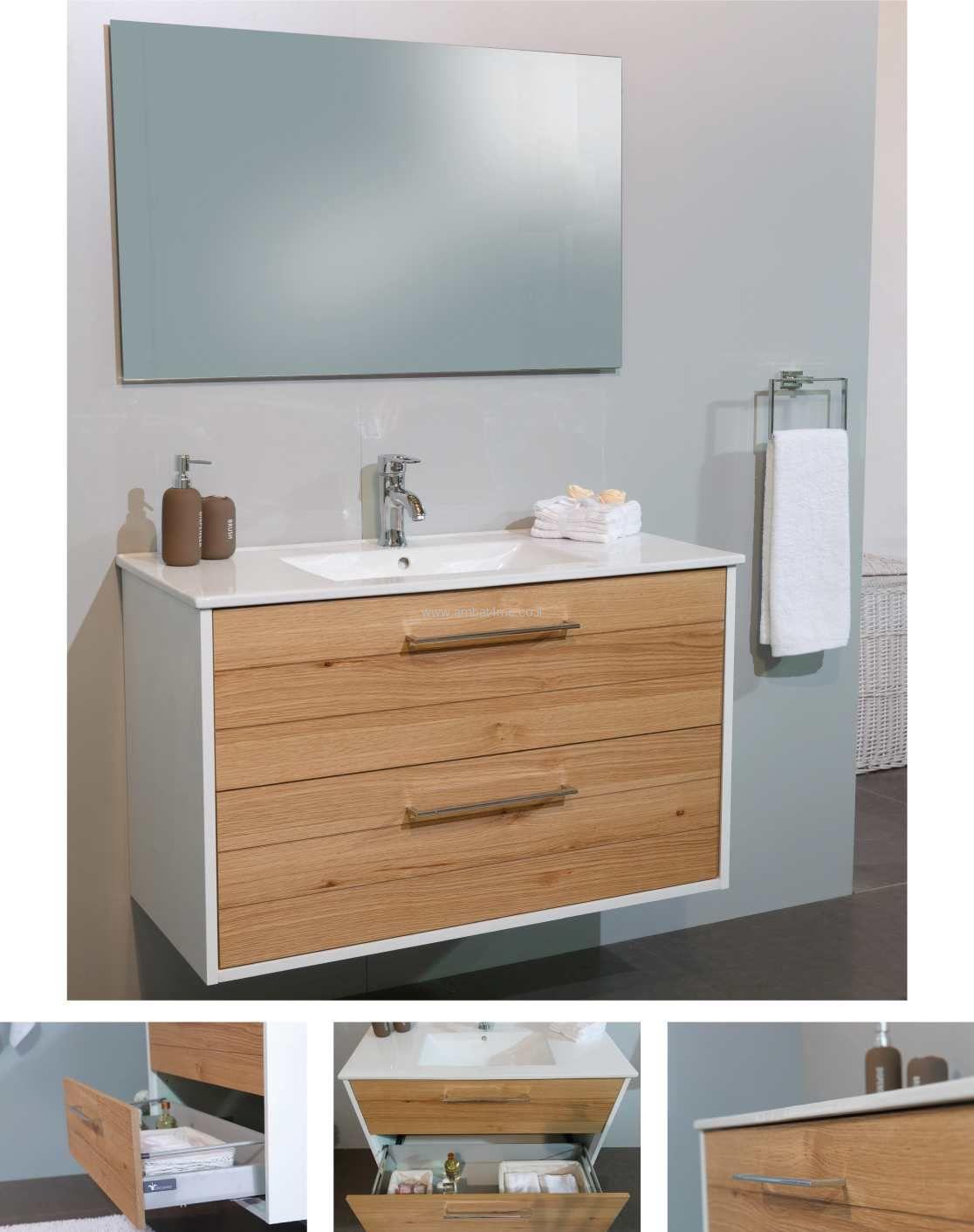 סימפלי ארון אמבטיה תלוי