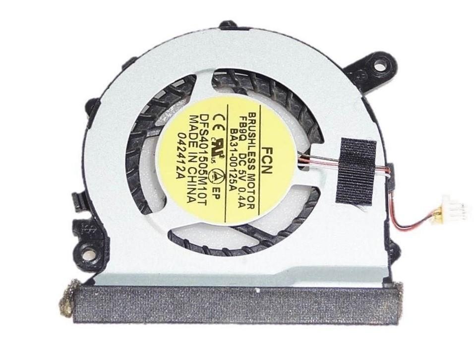 מאוורר להחלפה במחשב נייד סמסונג SAMSUNG NP530 NP530U3C NP535U3C NP-535U3C 5 SERIES CPU COLLING FAN BA62-00673A BA31-00125A