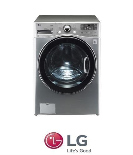 "LG מכונת כביסה 17 ק""ג + מייבש 10 ק""ג דגם  F-1710CV"