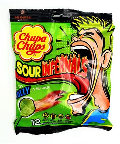 Chupa Chups sour infernals Jolly