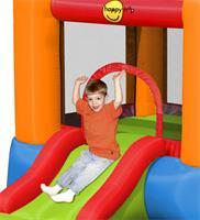 מתקן קפיצה קלאסי עם מגלשה הפי הופ - 9004  Slide Bouncer Happy Hop