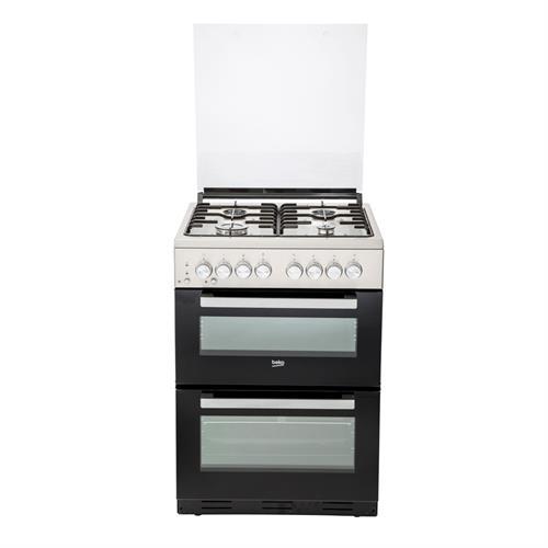 תנור משולב כיריים Beko KFDM62120DWDSL בקו צבע לבן