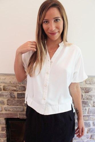 חולצת אלה לבנה