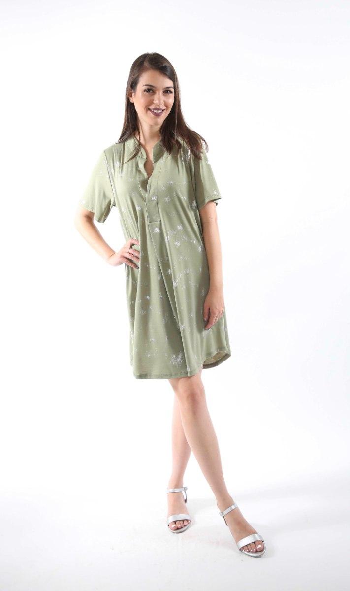 שמלת נרקיס ירוקה