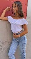 חולצת אופשוולדרס טטרה לבן