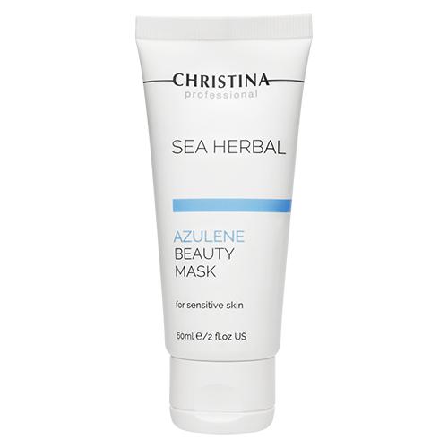 כריסטינה אזולן מסכת יופי לחותית לעור רגיש ורגיל  - Christina Beauty Mask Azulene