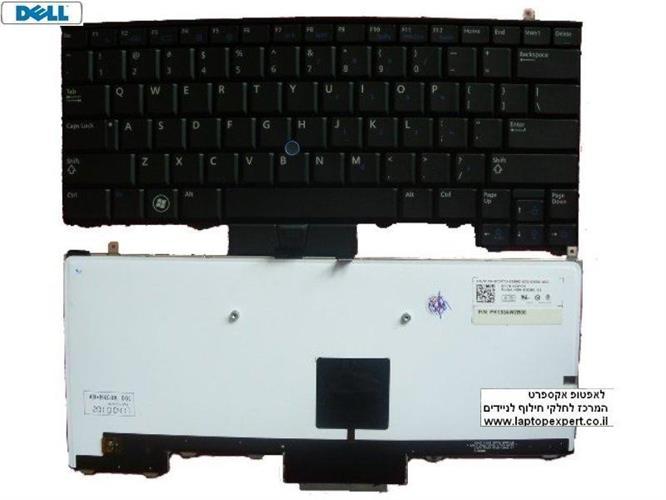 מקלדת מוארת כולל עברית למחשב נייד דל Dell Latitude E4310 Laptop Keyboard 378X2 / 0378X2 HEBREW Backlit