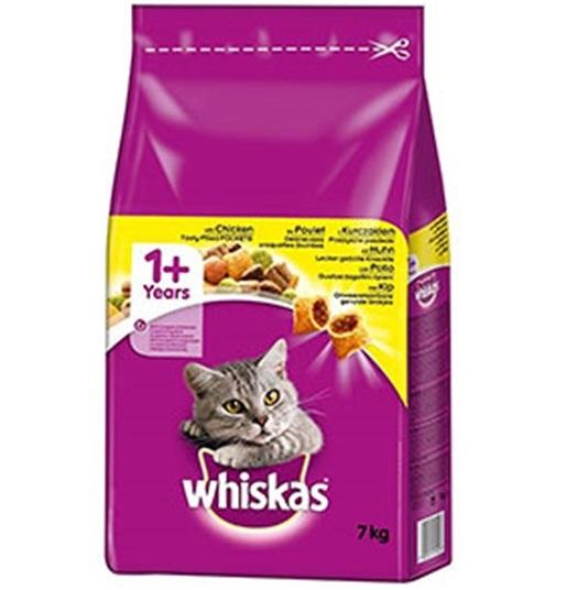 """וויסקס מזון לחתולים 7 ק""""ג בשר עוף"""