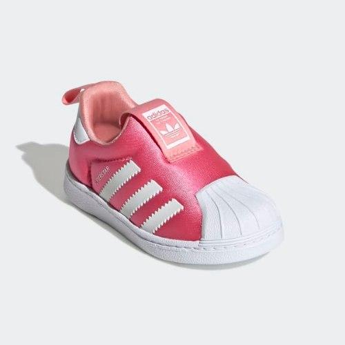 נעלי ספורט ADIDAS SUPERSTAR ורוד 20-35