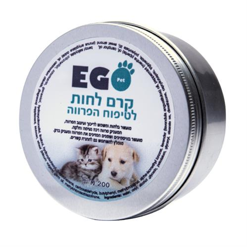 EGO-PET קרם לחות לטיפוח הפרווה