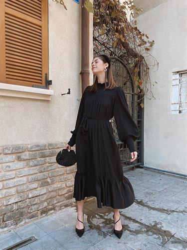 שמלת ואלי - שחורה