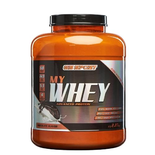 "G.S חלבון MY.Whey שוקולד, 2.27 ק""ג, כשר נוטרי קר"