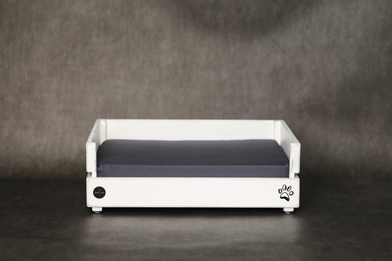 מיטה לכלב- דינגו S לבן ווש
