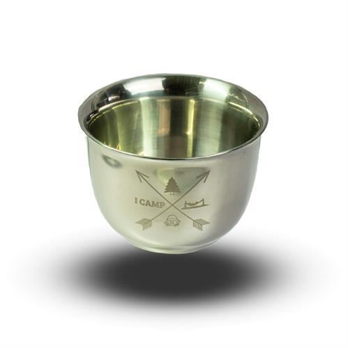 כוס נירוסטה דופן כפולה 85 מל