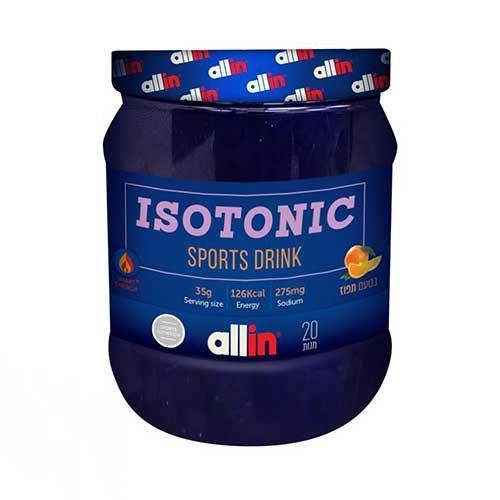 אבקה איזוטונית אול אין | Isotonic Sport Drink טעם תפוז ALLIN