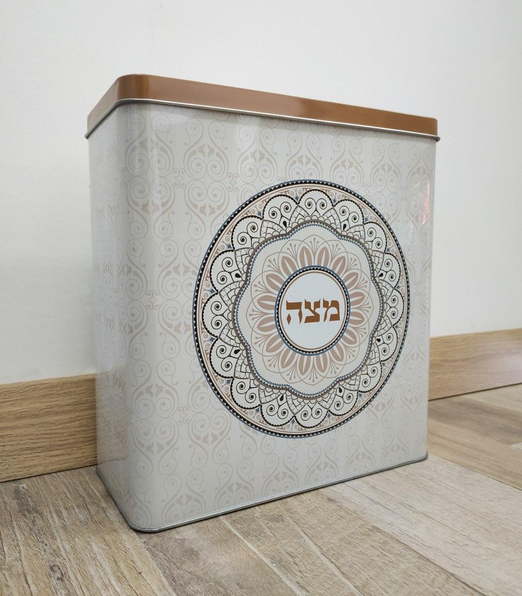 קופסה למצות - מתנה שימושית - דוגמא