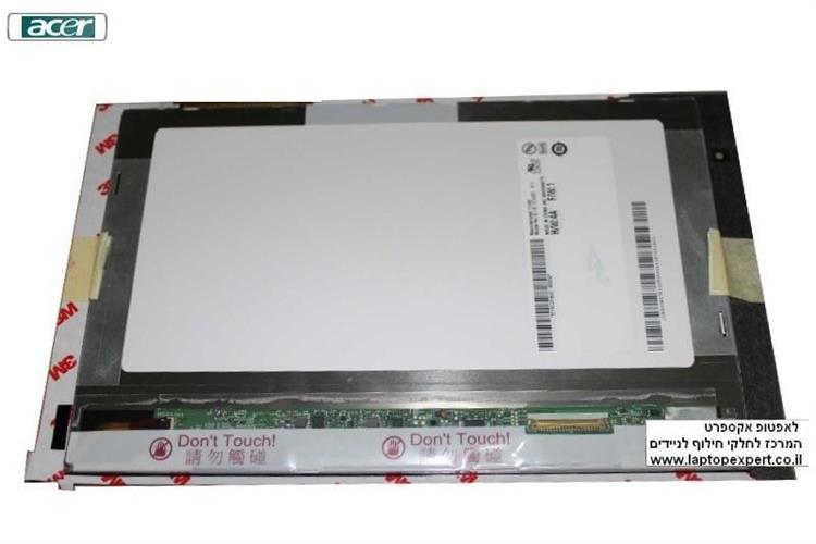 יחידת טא'צ - דיגיטיזר כולל מסך קומפלט לטאבלט אייסר Acer Iconia Tab W500 W501 LED LCD Screen Display 10.1