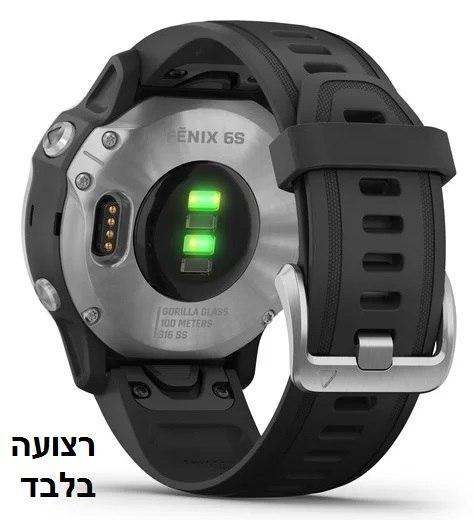 רצועה מקורית לשעון גרמין Garmin Fenix 5s / 6s QuickFit 20 Watch Bands שחור