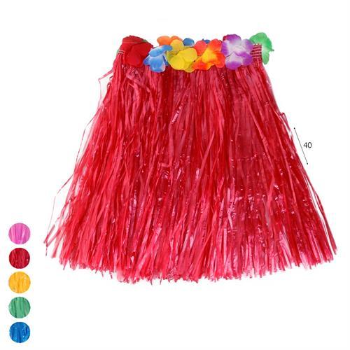 חצאית הוואי מעורב צבעים