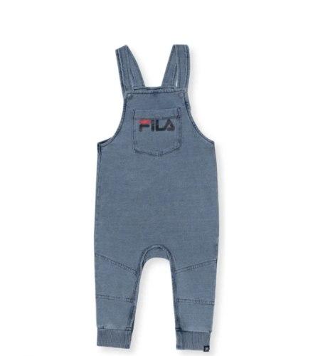 אוברול ג'ינס כחול כתפיות  FILA