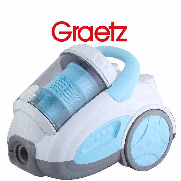 שואב אבק ציקלון אלקטרוני ללא שקית Graetz  דגם: GR-557