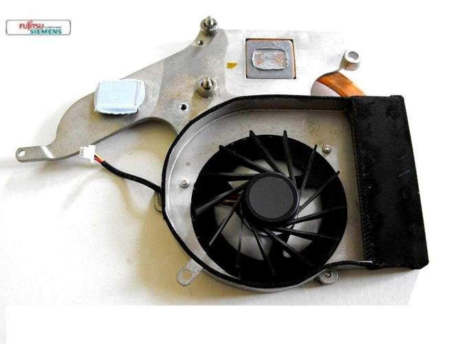 מאוורר למחשב נייד פוגיטסו כולל גוף קירור Cooler CPU Notebook Fujitsu M9400 IVF: 6043B0037401 / GC054509VH-A