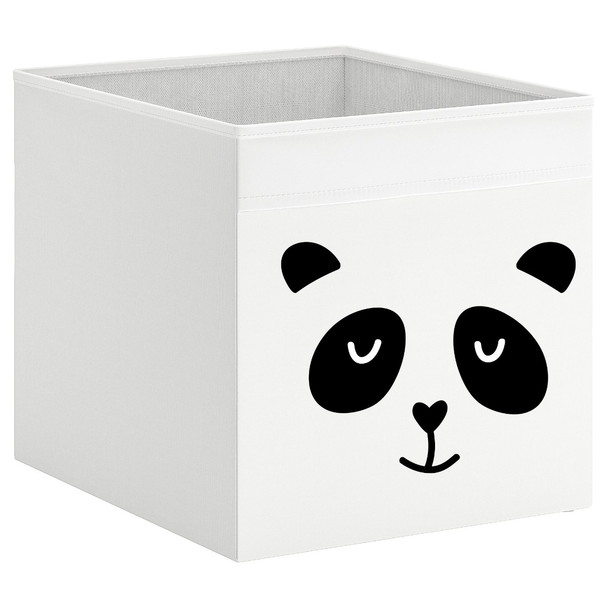 קופסת אחסון לכוורת עם הדפס- פנדה