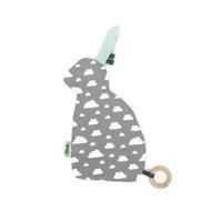 שמיכי תגיות קטן (מנטה) - דגם ארז
