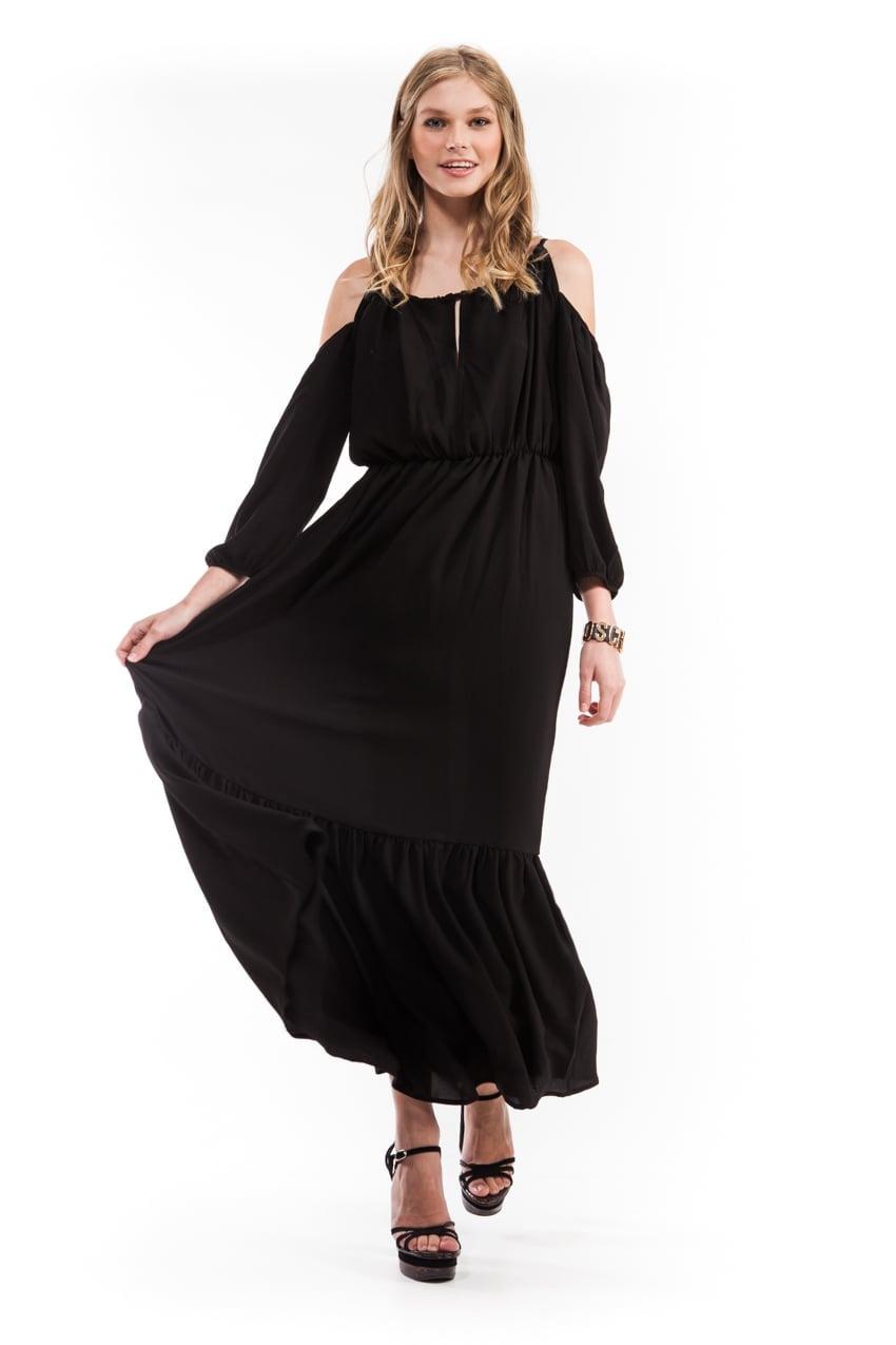 שמלת קלאודיה שחורה