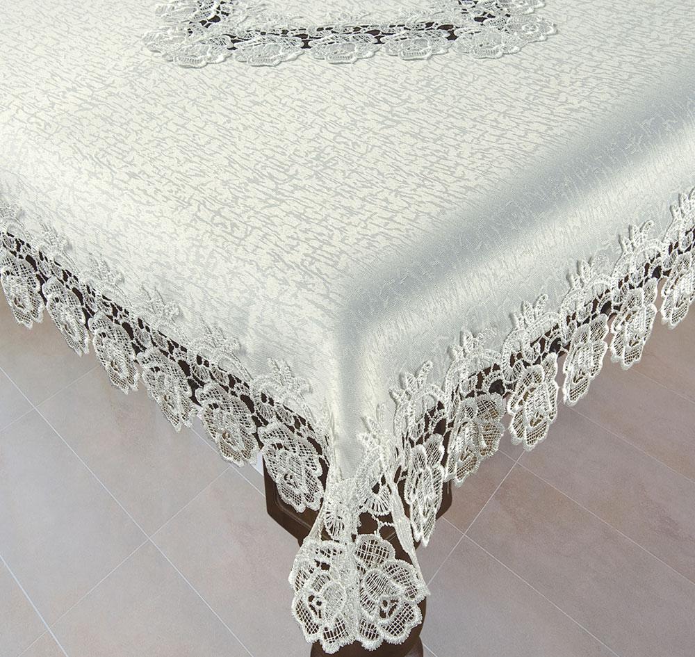 מפת שולחן מתחרה 150/350 ניתן בשמנת. ולבן.