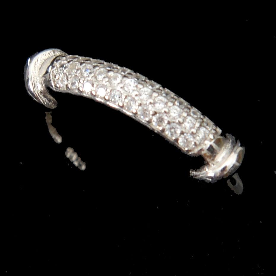 טבעת כסף משובצת זרקונים RG5116
