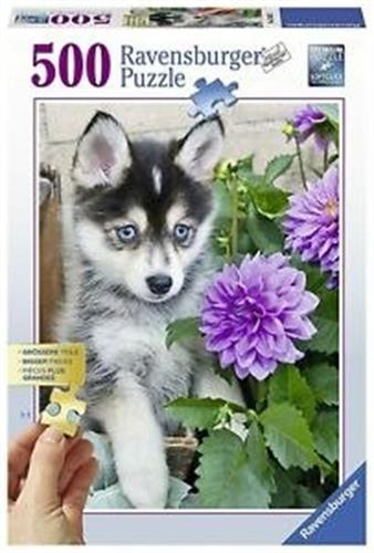 כלב זאב גור פאזל 500 חלקים