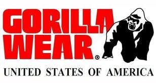 רצועות למפרק היד שחור אפור gorilla wear