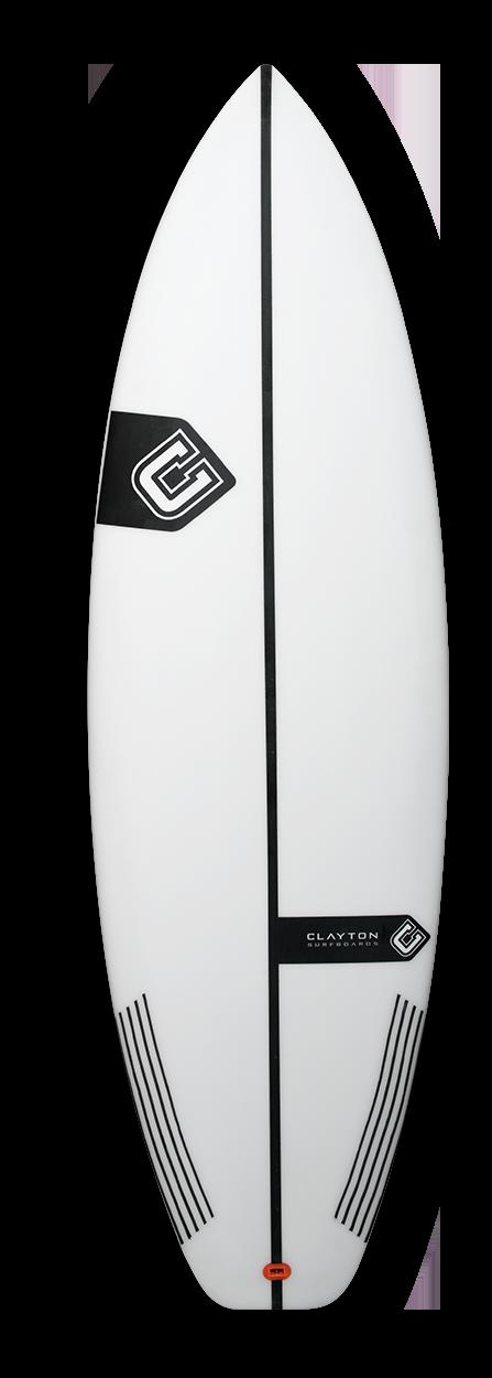 CLAYTON SURFBOARD DV3 PU 5'3 איסוף מהרצליה בלבד