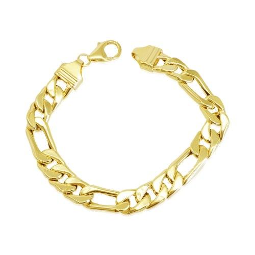 צמיד זהב איטלקי לגבר חוליות|פיגרו