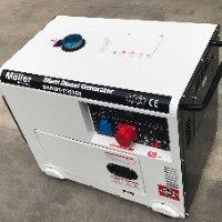 גנרטור דיזל מושתק 7500W תלת פאזי מבית MOLLER GERMANY