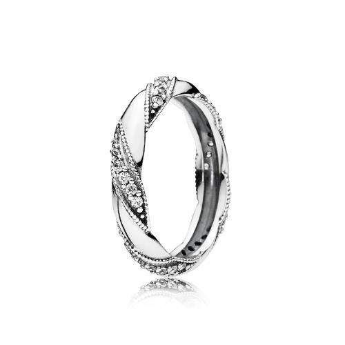 טבעת כסף פנדורה 190981CZ