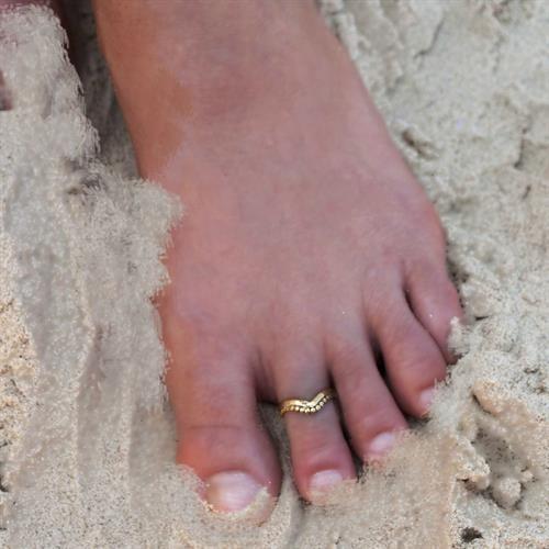 טבעת רגל גל בראס