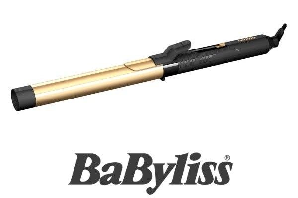 BaByliss מסלסל שיער קרמי מוזהב דגם C425ILE