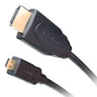 כבל Gold Touch 1.8M HDMI TO MICRO-HDMI