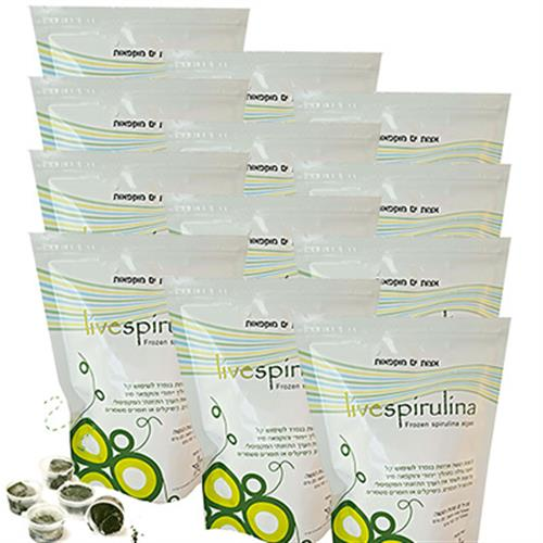 Frozen Spirulina Packing 96 Units - about 2 kg