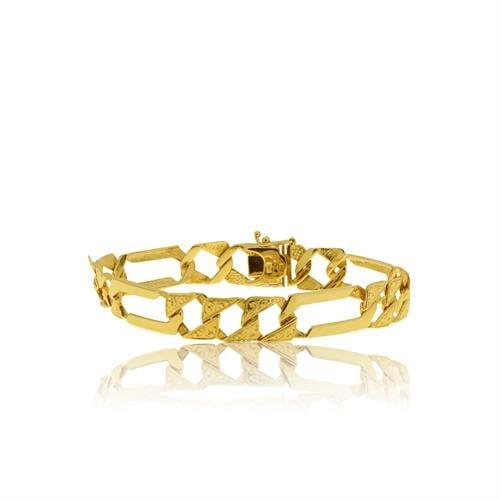 צמיד זהב לאשה מעוצב בזהב 14 קרט