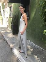 שמלת דוריאן אפור בהיר