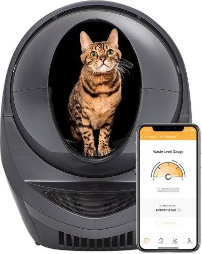 שרותים חכמים לחתולים Litter-Robot 3 Connect עם חיבור (wifi) ווי פיי