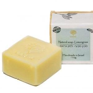 סבון טבעי למון גראס