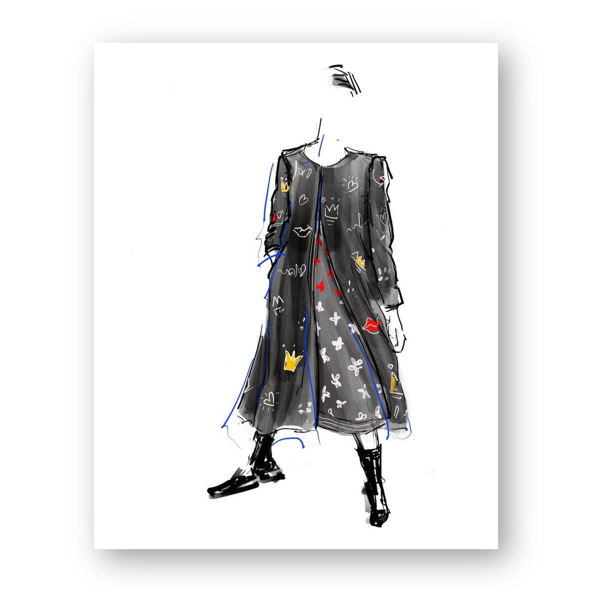 איור אופנה #14