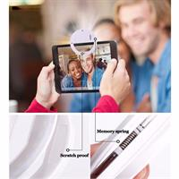 תוסף טבעת הפלאש לסמארטפון לשדרוג כל תמונה וסלפי שתצלמו בסמארטפון שלכם!