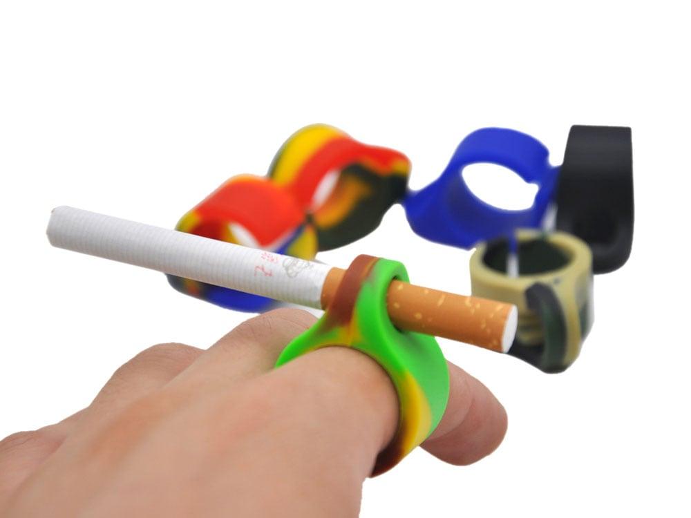 טבעת סיליקון להחזקת סיגריה