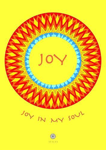 דפי מנדלות לצביעה - JOY IN MY SOUL