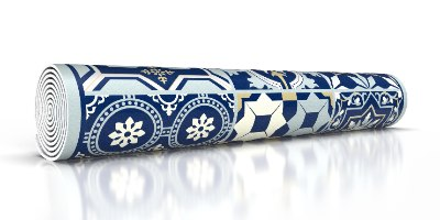 ראנר מבודד חום אקלקטי כחול מלכותי  TIVA DESIGN